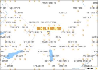 map of Aigelsbrunn