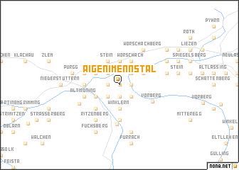 map of Aigen im Ennstal