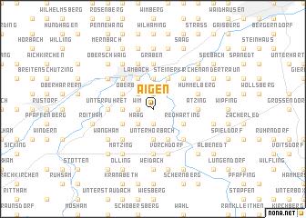 map of Aigen