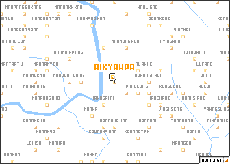 map of Ai-kyawpa