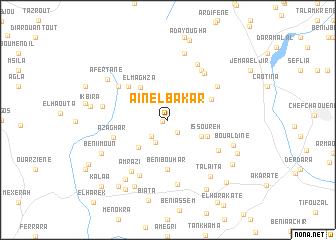 map of Aïn el Bakar