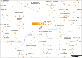 map of Aïn el Hedid