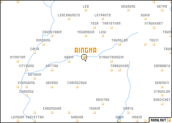 map of Aingma