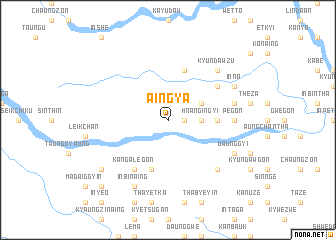 map of Aingya