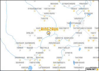 map of Aingzauk