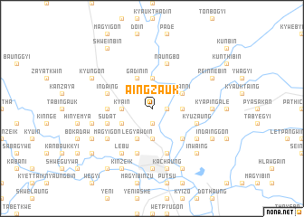 map of Aingzauk