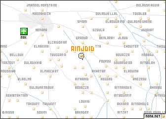 map of Aïn Jdid