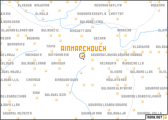 map of Aïn Marchouch