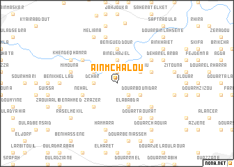 map of Aïn Mchalou