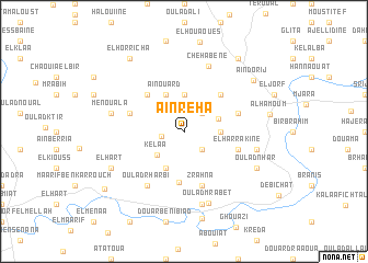 map of Aïn Reha