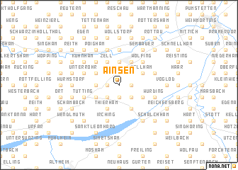 map of Ainsen
