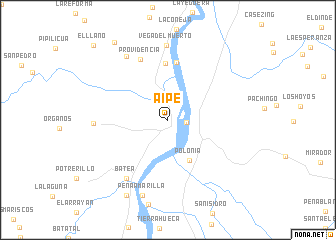 map of Aipe
