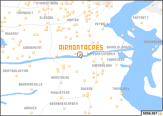 map of Airmont Acres