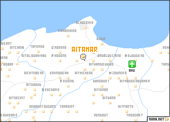map of Aït Amar