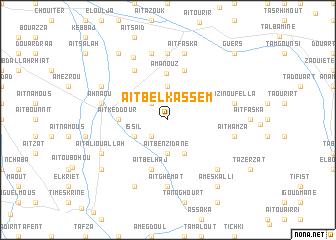 map of Aït Belkassem