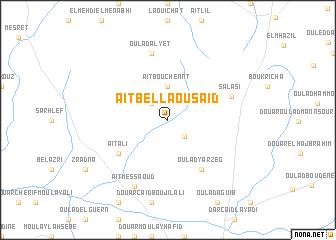 map of Aït Bella Ou Saïd
