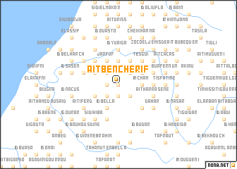 map of Aït Ben Cherif