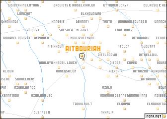 map of Aït Bou Riah