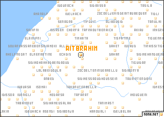 map of Aït Brahim