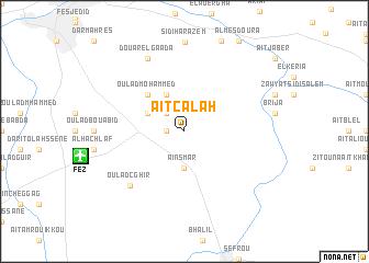 map of Aït Calah