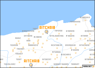 map of Aït Chaïb