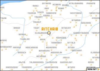 map of Aït Chaïb