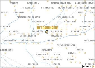 map of Aït Dahmane