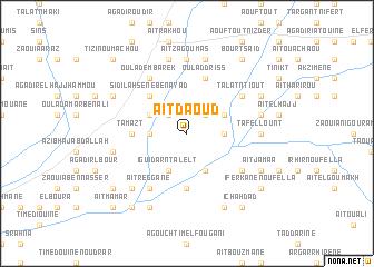 map of Aït Daoud