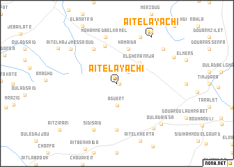 map of Aït el Ayachi