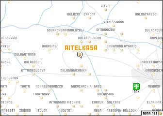 map of Aït-el-Kasa