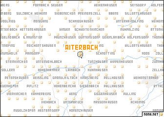 map of Aiterbach