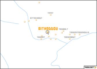 map of Aït Haddou