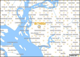 map of Āithādi