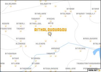 map of Aït Halou Ou Adou