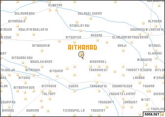 map of Aït Hamad