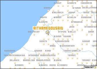 map of Aït Hamed Ou Saïd