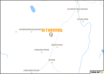 map of Aït Hammad