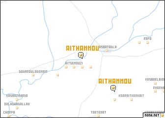 map of Aït Hammou