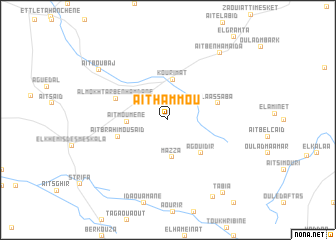 map of Aït Hammou