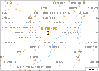 map of Aït Iohra