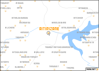 map of Aït Irizane