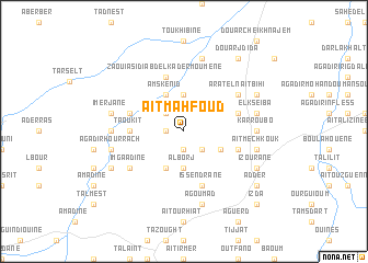 map of Aït Mahfoud