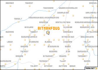 map of Aït Mahfoud