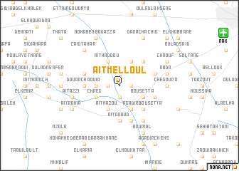 map of Aït Melloul