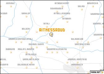 map of Aït-Messaoud