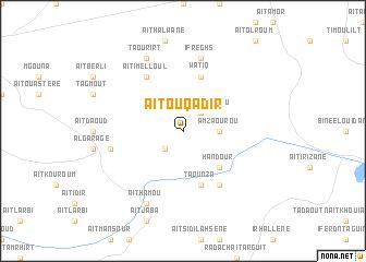 map of Aït Ouqadir