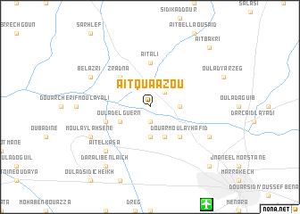 map of Aït Quaazou
