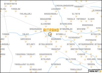 map of Aït Raho