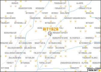 map of Aït Yaza