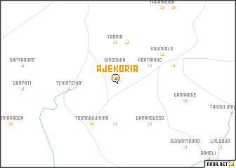 map of Ajékoria